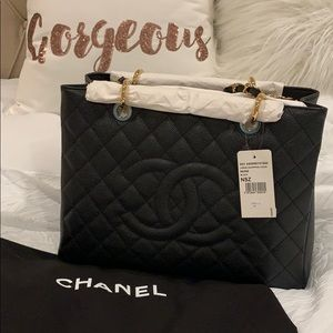 Auth Chanel GST caviar with gold hardware - BNWT